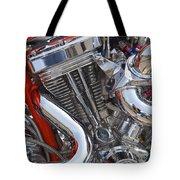 Chopper Engine Tote Bag