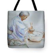 Chopsticks Iv - Rice Bowl Tote Bag