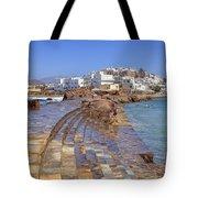 Chora Naxos Tote Bag