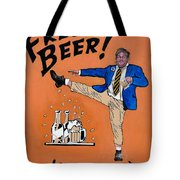 Chris Farley Tote Bag by Tom Roderick