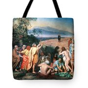 Christ Appears Tote Bag