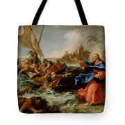 Christ At The Sea Of Galilee Tote Bag