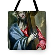 Christ Clasping The Cross Tote Bag