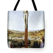 Christ Crucified Tote Bag