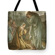 Christ In The Garden Of Gethsemane Tote Bag