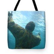Christ Of The Abyss Tote Bag