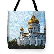 Christ The Savior Cathedral Tote Bag