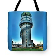 Christchurch Airport's Control Tower Tote Bag