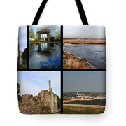 Christchurch Collage Tote Bag