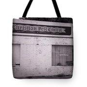 Christian Pest Control Tote Bag