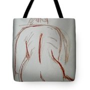 Christina - Life Drawing Tote Bag