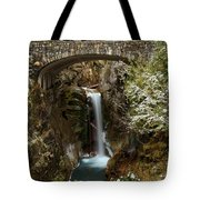 Christine Under The Bridge Tote Bag