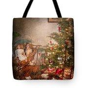Christmas - My First Christmas  Tote Bag