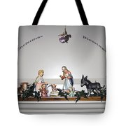 Christmas Blessings Creche Tote Bag