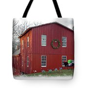 Christmas Eve At Williston Mill Tote Bag