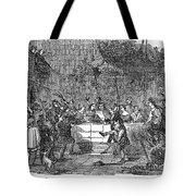 Christmas Feast, 1838 Tote Bag