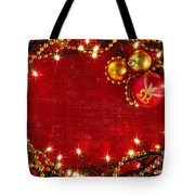 Christmas Frame Tote Bag