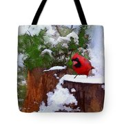 Christmas Guest Tote Bag