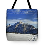 Christmas In Austria Europe Tote Bag by Sabine Jacobs