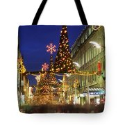 Christmas In Dublin, Henry Street At Tote Bag