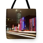 Christmas In Okc Tote Bag
