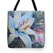 Christmas Lily Tote Bag