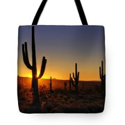 Christmas Morning In Arizona  Tote Bag