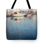 Christmas On The Water Tote Bag