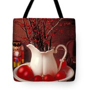 Christmas Still Life Tote Bag by Garry Gay