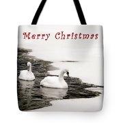 Christmas Swans 2367 Tote Bag