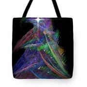 Christmas Tree 49b Star Tote Bag