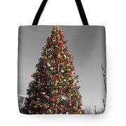 Christmas Tree At Pier 39 Tote Bag