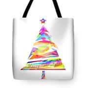 Christmas Tree Design Tote Bag