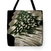 Christmas Tree Frozen In Time Tote Bag
