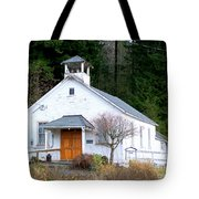 Christs Church At Elbe Washington Tote Bag