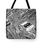 Chrome Tote Bag
