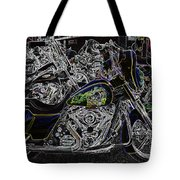 Chrome And Paint Tote Bag