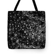 Chrome Beads Tote Bag