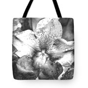 Chrome Flower Tote Bag