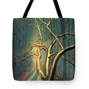 Chrome Forest Tote Bag