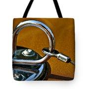 Chrome Lock Tote Bag
