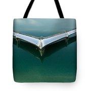 Chrome On Green Tote Bag