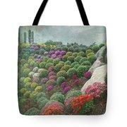 Chrysanthemum Garden - Ott's Greenhouse Schwenksville Pa Tote Bag