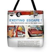 Chrysler Ad, 1959 Tote Bag