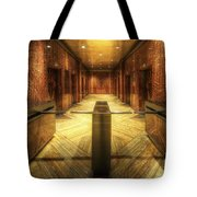 Chrysler Building Elevator Lobby Tote Bag