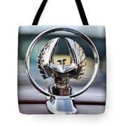 Chrysler Imperial Hood Ornament Tote Bag