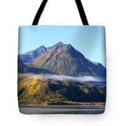Chugach Mountains Tote Bag