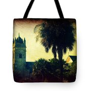 Church At Fort Moultrie Near Charleston Sc Tote Bag