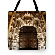 Church At Night Tote Bag