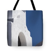 Church Bell Tower Chacras De Coria Tote Bag by Philippe Widling